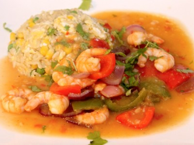 Quick & Healthy Sweet and Sour King Prawns