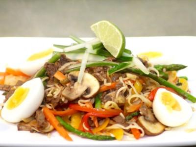 Zingy Thai Beef Noodle Salad
