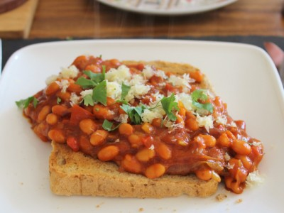 Bad-ass Beans on Toast