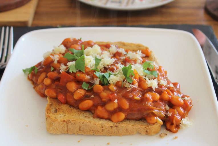 Bad-ass Beans on Toast