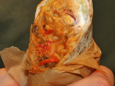 Vegetable Chilli Burritos