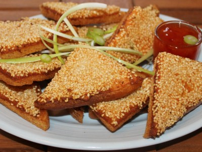 Homemade Prawn Toast