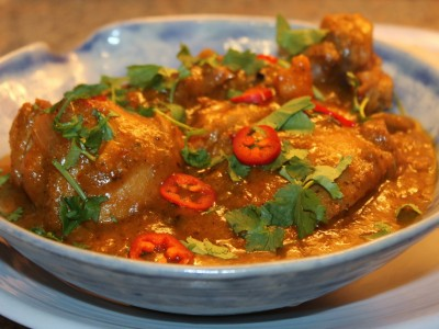 Slow Cooked Thai Chicken and Sweet Potato Curry