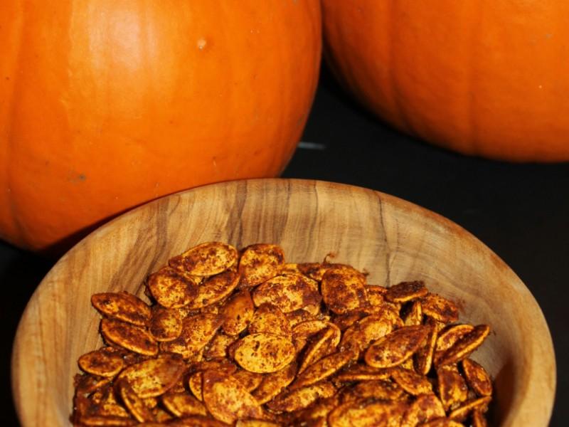 Spicy Paprika Pumpkin Seeds