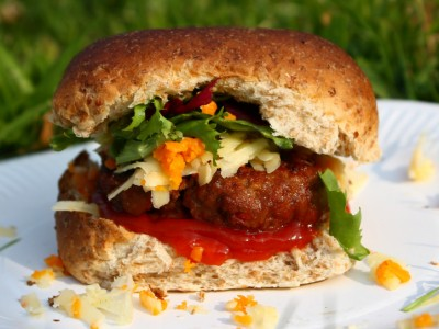 Chilli Barbecue Burgers