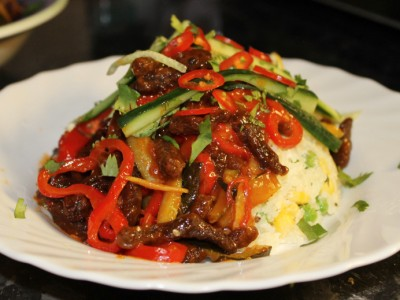 Crispy Sweet Chilli Beef