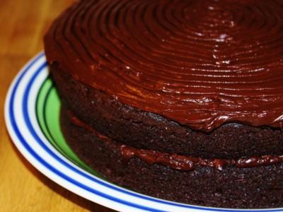 Chocolate Orange Fudge Cake