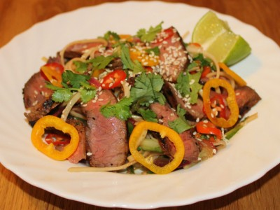 Thai Steak Noodle Salad