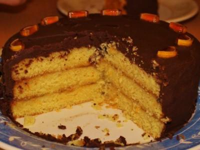 Tipsy Jaffa Cake