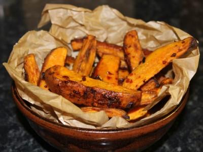 Sweet Potato Chilli Chips