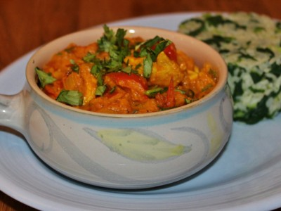 Chicken & Red Pepper Curry