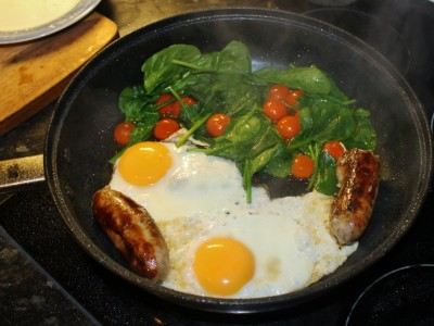 The Slightly Better For you Fry-Up