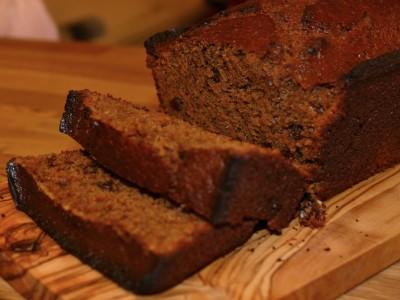 Sticky Gingerbread Loaf