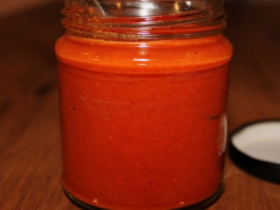 Roasted Garlic and Red Pepper Chilli Sauce