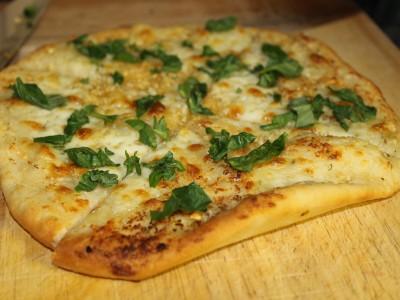 Cheesy Stone Baked Garlic Bread