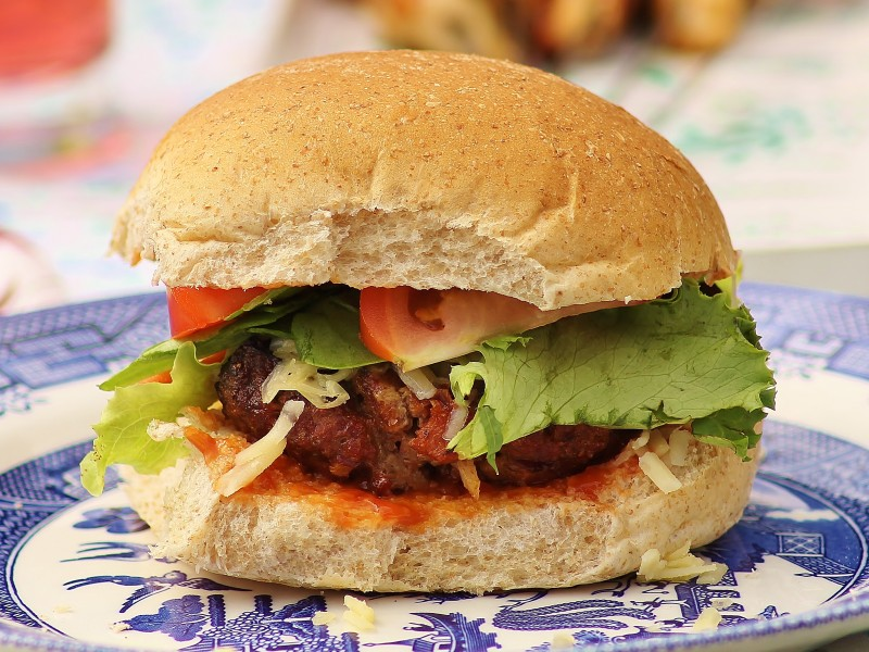 Beefy Barbeque Burgers