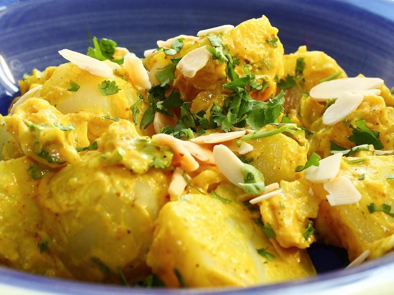 Coronation Potato Salad