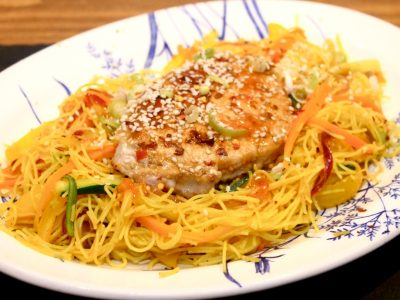 Sweet Chilli, Singapore Pork Noodles
